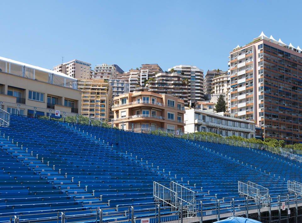 Grandstands Grand Prix Monaco