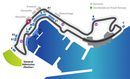 Tribune del Grand Prix di Monaco™