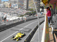 Terraces Grand Prix Monaco